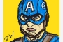Draw-something-Captain-America-Steve-Rogers