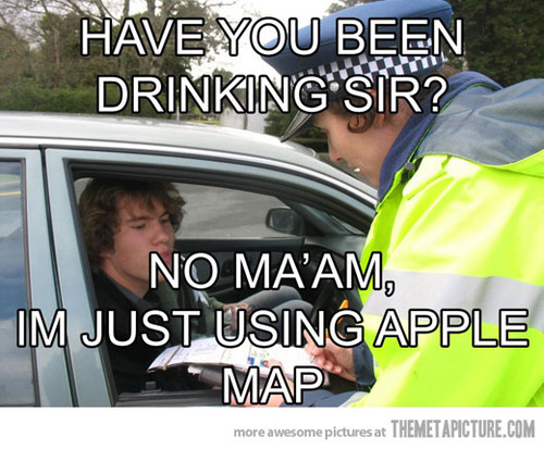 Funny Apple Meme : The funniest iphone maps app memes