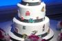 8-Bit Baddies Wedding Cake