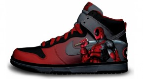 Nike'd Up: Deadpool Custom Nike Sneakers