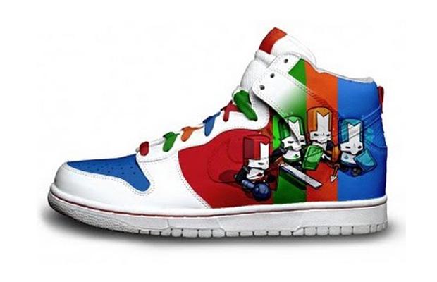 Castle Crashers Nike Sneakers