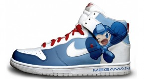 Nike'd Up: Mega Man & Castle Crashers Nike Sneakers