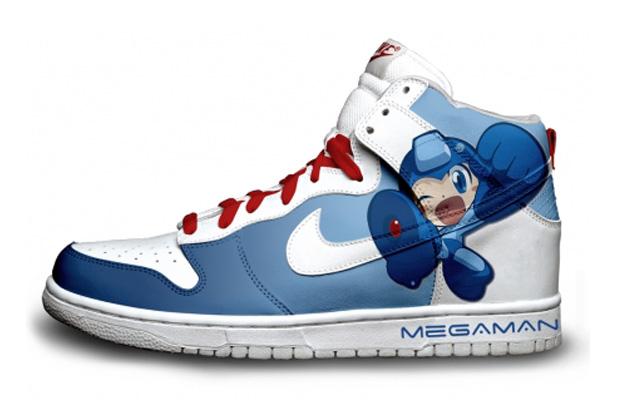 Mega Man Nike Sneakers
