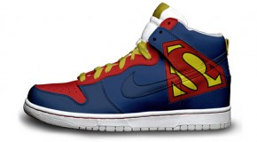 Nike'd Up: Superman Nike Sneakers