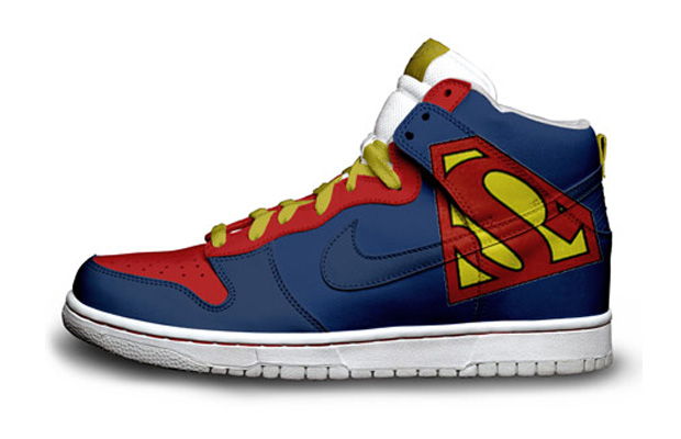 Superman Nike sneakers