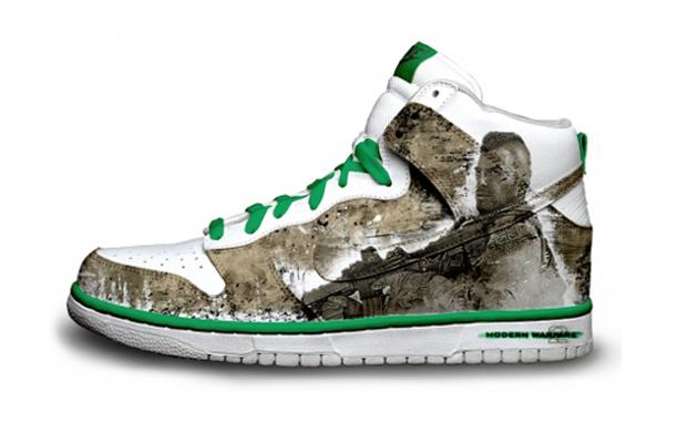 Call of Duty Modern Warfare 2 Nike Sneakers