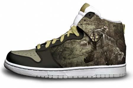Bioshock Nike Sneakers