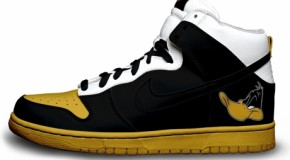 Nike'd Up: Looney Tunes Daffy Duck Nike Sneakers