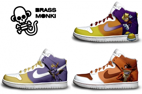 PlayStation Character Nike Sneakers