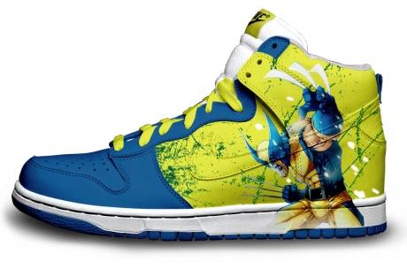 Wolverine Nike Sneakers