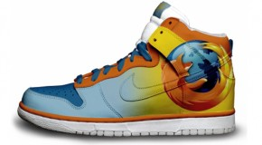 Nike'd Up: Mozilla Firefox Nike Sneakers