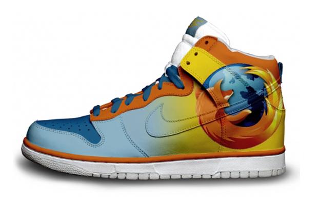 Mozilla Firefox Nike Sneakers