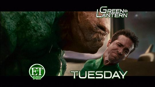 ET Reveals Green Lantern Footage