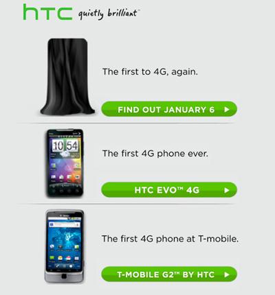 HTC Teases Next 4G Phone