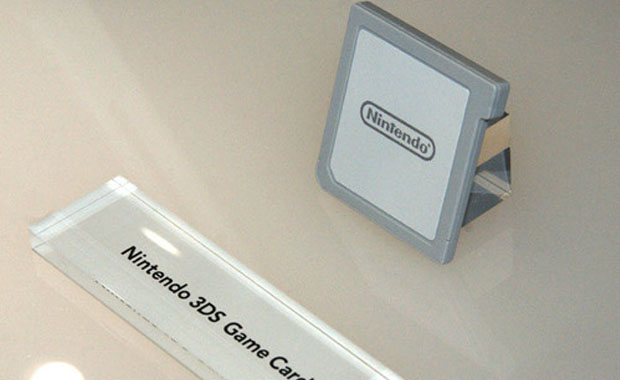 Nintendo 3DS Game Card Exposed