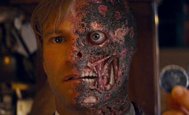 Another Baddie Bites the Dust! No Two-Face in Dark Knight Rises