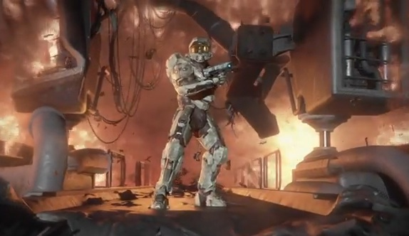Master Chief Gets New Look For Halo 4