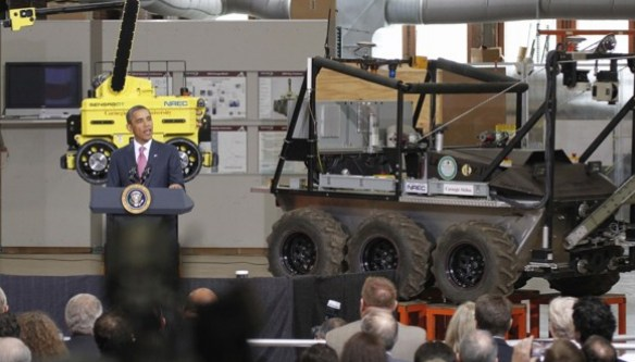 President Obama Puts $70 Mill Into Work-Ready Robots