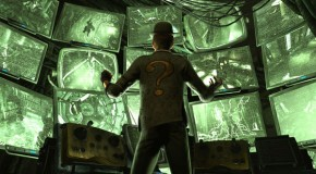 The Riddler Playing Mind Games In New Arkham City Trailer