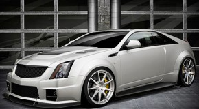 The Cadillac Hennessey V1000 CTS-V Coupe