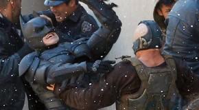 Batman Putting The Beats On Bane In New Dark Knight Rises Set Pics