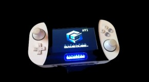 Techknott's Disc-less Gamecube Handheld System