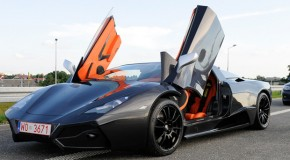 Check Out The Beautiful De Veno Arrinera Supercar Flex Muscle On The Road