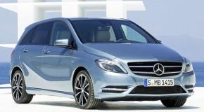 Mercedes Unveils New B-Klasse Sedan