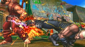 Street Fight X Tekken Integrating Super Street Fighter IV Online Features
