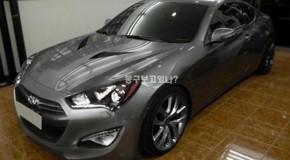 2013 Hyundai Genesis Coupe Photo Leaked