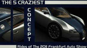 The 5 Craziest Concept Rides of The 2011 Frankfurt Auto Show