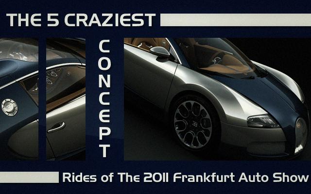 Craziest Concept Rides of 2011 Frankfurt Auto Show
