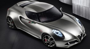 The 2011 Alfa Romeo 4C Fluid Concept