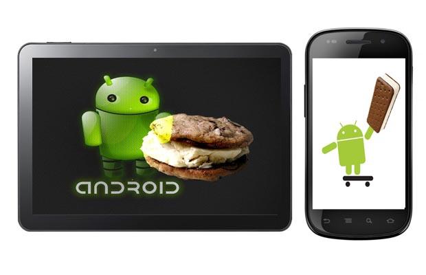 Android Ice Cream Sandwich Multi-platform