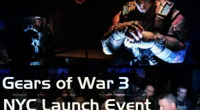 EvolveTV Exclusive: Gears of War 3 NYC Launch Showcase