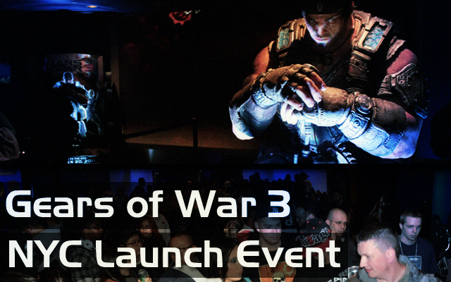 Gears of War 3 NYC Launch Event