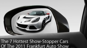 The 7 Hottest Cars Of The 2011 Frankfurt Auto Show