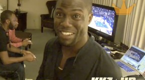 Konsole Kingz Gives Kevin Hart An Exclusive Preview Of NBA 2K12