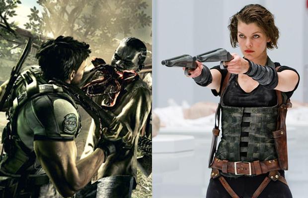 Las Plagas Resident Evil Retribution