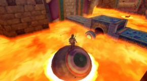The Legend of Zelda: Skyward Sword Fire Temple & Fire Boss Video Footage