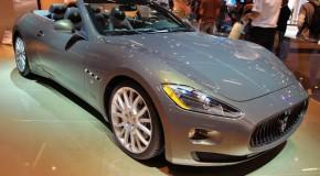 2011 Frankfurt Auto Show: Maserati GranCabrio Fendi Edition