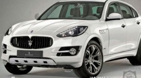 Maserati SUV Image & Pocket Guide Except Leaks Online