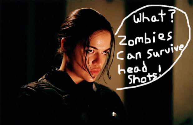 Michelle Rodriguez Resident Evil Retribution
