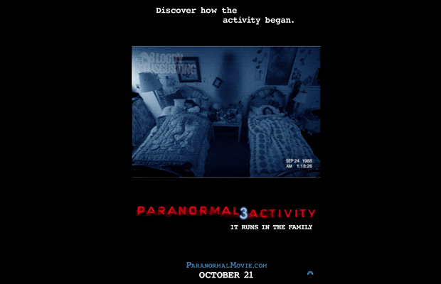 Paranormal Activity 3 Film Poster