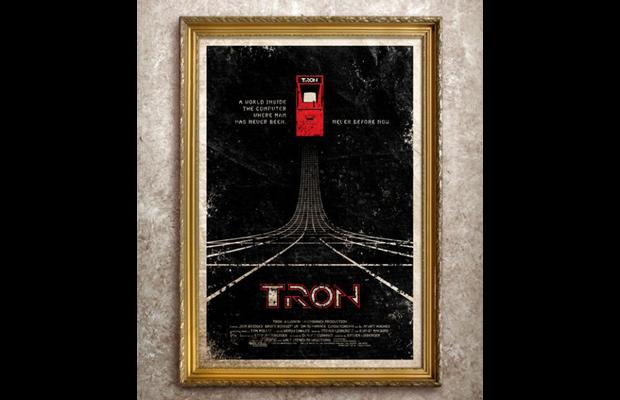 Adam Rabalais Tron Movie Poster