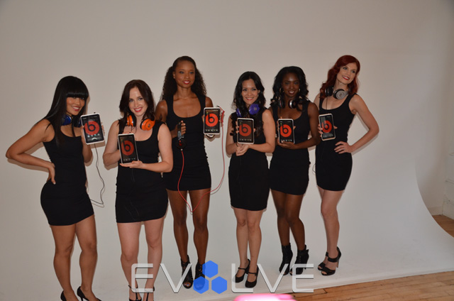 beats by Dre Event Girls
