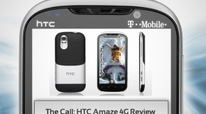 The Call: HTC Amaze 4G Review