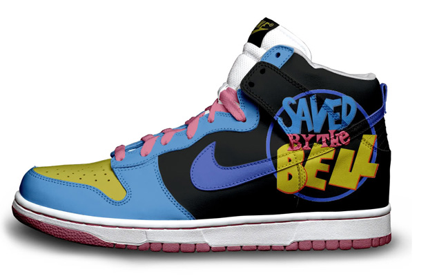 Saved by the Bell Nike Sneakers