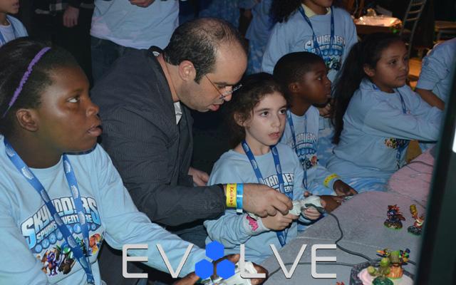 Skylanders NYCC 2011 Kids Event