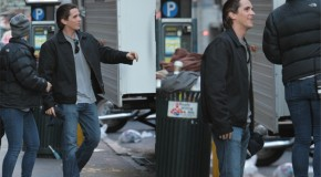 'The Dark Knight Rises' On-Set Photos Reveal Joseph Gordon-Levitt & Costume-less Christian Bale In NYC